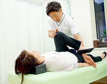当院の骨盤矯正